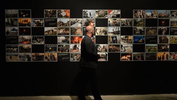 Photo exhibition of the winning entries of the Andrei Stenin International Press Photo Contest – 2015. File photo - Sputnik International