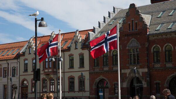 Norwegian flags - Sputnik International