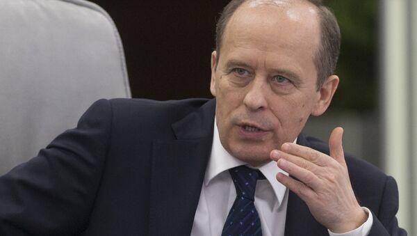 Head of the Federal Security Service Aleksandr Bortnikov - Sputnik International
