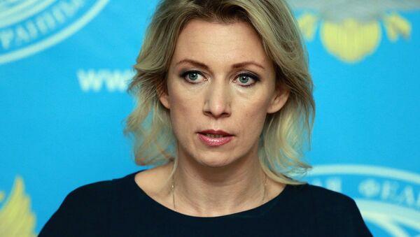 Briefing with Fireign Ministry's spokesperson Maria Zakharova - Sputnik International