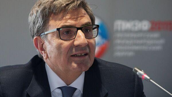 Antonio Fallico, Chairman, Board of Directors, Banca Intesa - Sputnik International