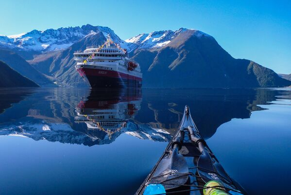 Hjørundfjorden fjord, Norway - Sputnik International