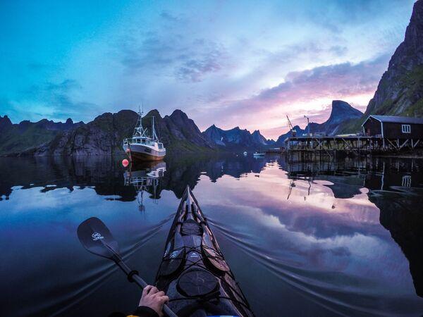 Kjerkfjorden, Lofoten Islands, Norway - Sputnik International