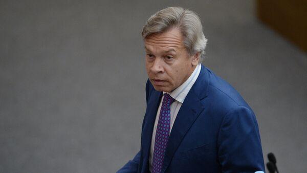Chairman of the State Duma Committee on International Affairs Alexei Pushkov - Sputnik International