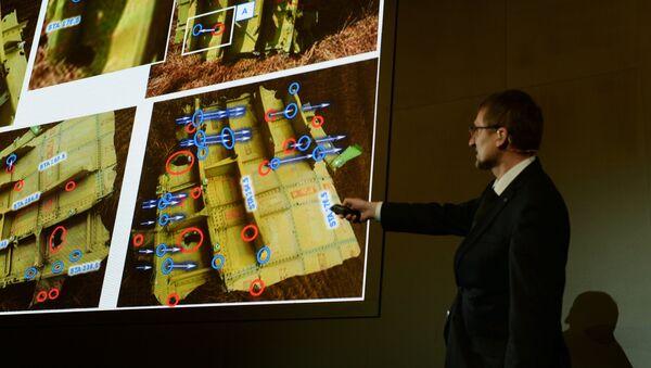 Presenting the results of the Boeing 777 crash simulation - Sputnik International