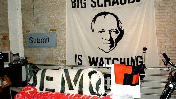 Demonstration against data retention in Germany. - Sputnik International