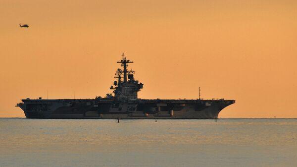 USS George H.W. Bush (CVN 77) departs Naval Station Norfolk - Sputnik International