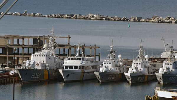 Coast guard vessels of Ukraine in the Port of Odessa - Sputnik International