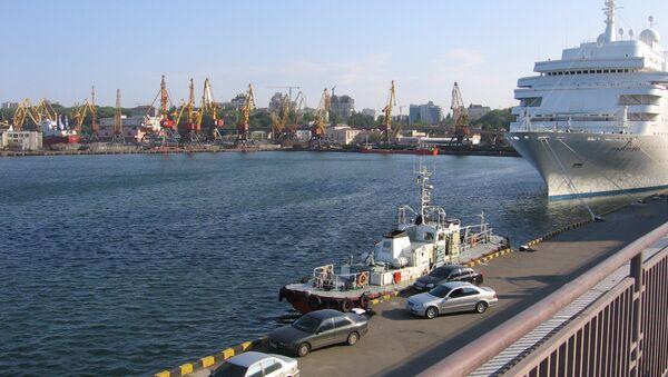 Odessa Harbour - Sputnik International