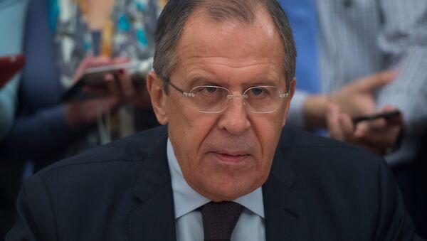 Russian Foreign Minister Sergei Lavrov meets with Sudanese Vice President Hassabu Abdalrahman - Sputnik International