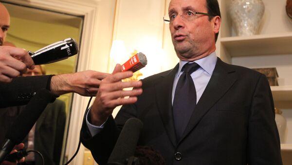 French President Francois Hollande - Sputnik International