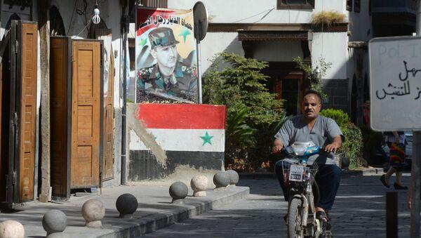 A street in Damascus. - Sputnik International