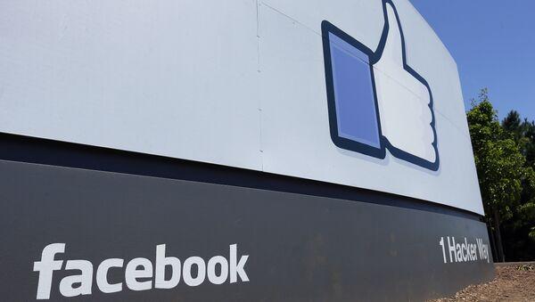 Facebook headquarters in Menlo Park, Calif. - Sputnik International
