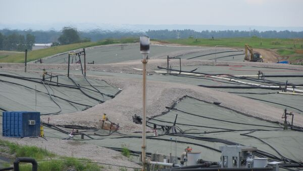 The West Lake Landfill in Bridgeton, Missouri, pictured in July 2014 - Sputnik International