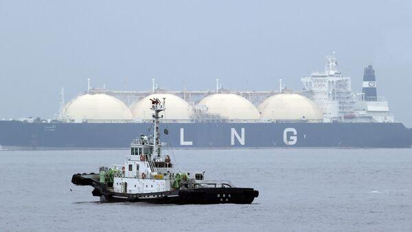 LNG tanker. File photo - Sputnik International