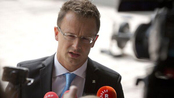 Hungarian Foreign Minister Peter Szijjarto - Sputnik International