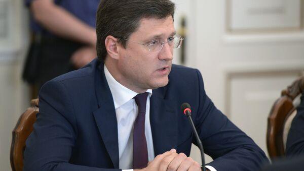 Alexander Novak, Energy Minister of the Russian Federation - Sputnik International