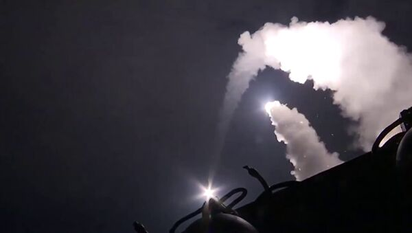 Last month, ships from the Caspian Flotilla launched 26 Kalibr-class cruise missiles from the Caspian Sea at 11 targets in Syria, over 1,500 km away. - Sputnik International