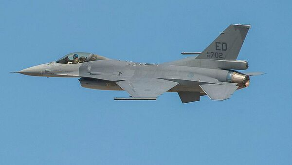F-16V fighter jet - Sputnik International