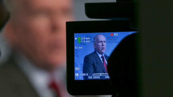 CIA Director John Brennan addresses a meeting at the Council on Foreign Relations, in New York, Friday, March 13, 2015 - Sputnik International