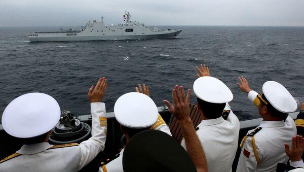 Russian-Chinese naval drill Joint Sea 2015 II in Vladivostok - Sputnik International