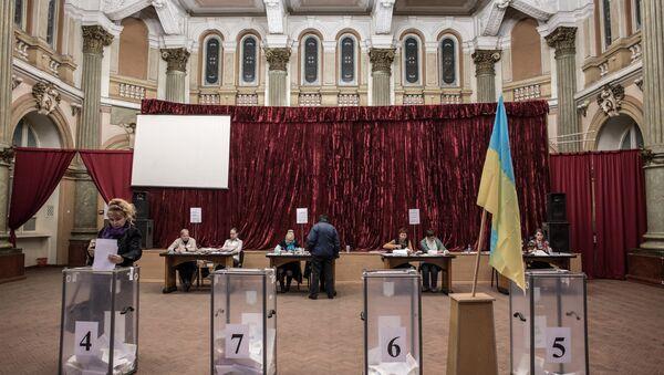 Local elections in Ukraine. - Sputnik International