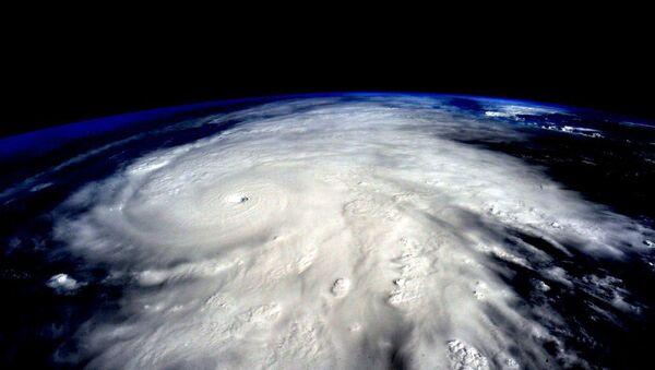 Hurricane Patricia from Space - Sputnik International
