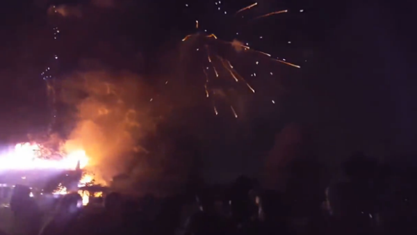 Fireworks Go Off in House Fire - Sputnik International