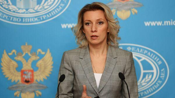 Briefing with Foreign Ministry's spokesperson Maria Zakharova - Sputnik International