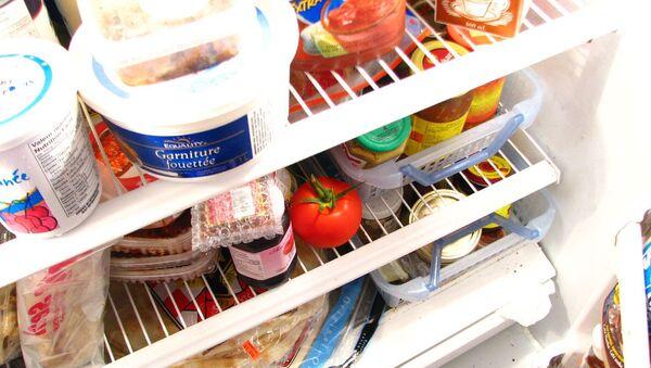 Food in a fridge - Sputnik International