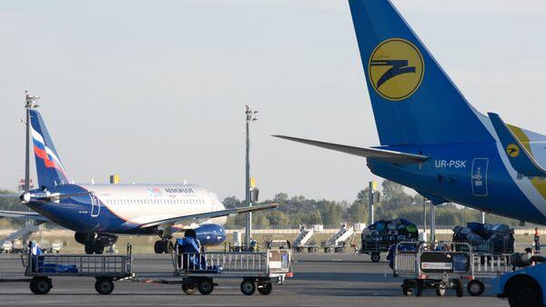 Aircraft at Boryspil Airport. File photo - Sputnik International