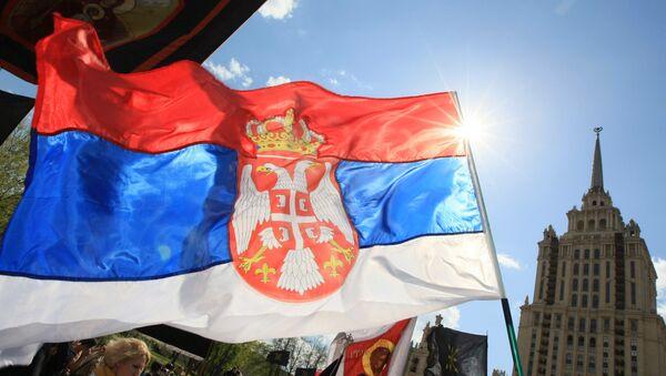 Serb March in support of Serbia's territorial integrity - Sputnik International