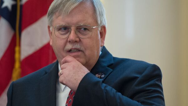 John F. Tefft, the United States Ambassador to the Russian Federation, at a reception on the occasion of the US Independence Day at the US Ambassador's residence in Moscow - Sputnik International