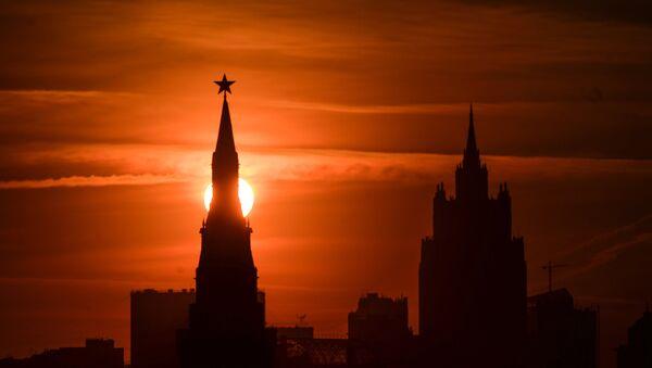 One of the Kremlin towers in Moscow. - Sputnik International