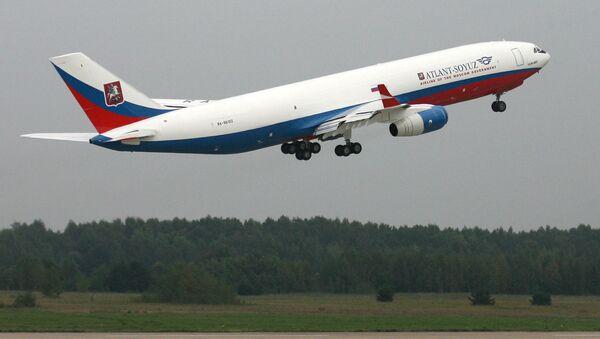 Il-96-400T cargo aircraft - Sputnik International