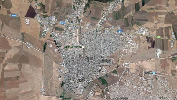 Nusaybin map - Sputnik International