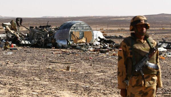 Russian Airbus A321 passenger airliner crash site in Egypt - Sputnik International