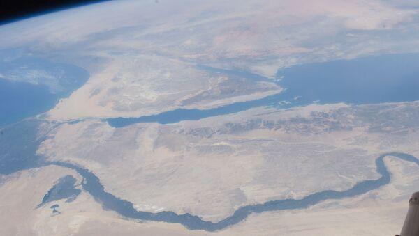 Nile River Delta, Sinai Peninsula (NASA, International Space Station, 07/10/11) - Sputnik International