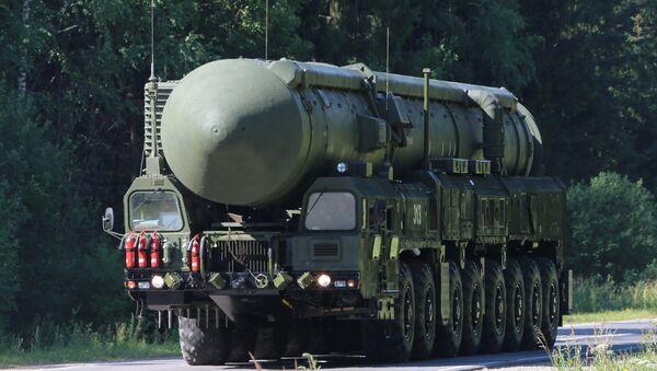 Sergei Shoigu inspects Teykovo Guards Missile Division and Yars land-based mobile missile system - Sputnik International