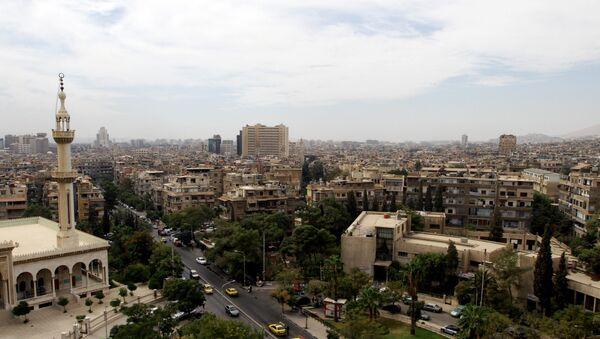 A general view shot taken on September 29, 2015, shows a neighbourhood in the Syrian capital Damascus - Sputnik International