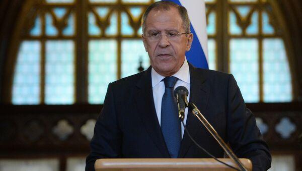 Russian FM Sergey Lavrov - Sputnik International