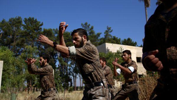 Rebel fighters in Syria - Sputnik International
