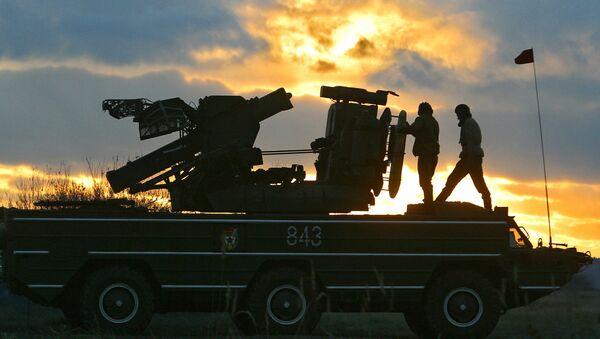 An Osa antiaircraft missile system - Sputnik International