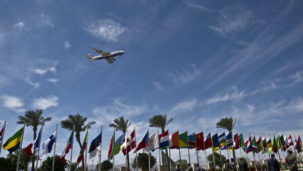 An airplane arrives at Sharm el-Sheikh airport - Sputnik International