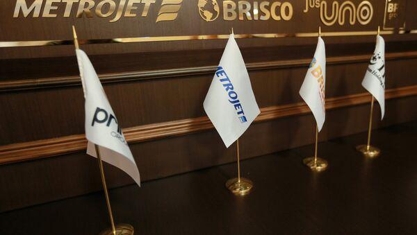 Kogalymavia Airlines representatives hold news conference - Sputnik International