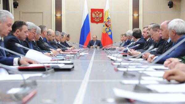President Putin chairs meeting of Russia's Security Council - Sputnik International