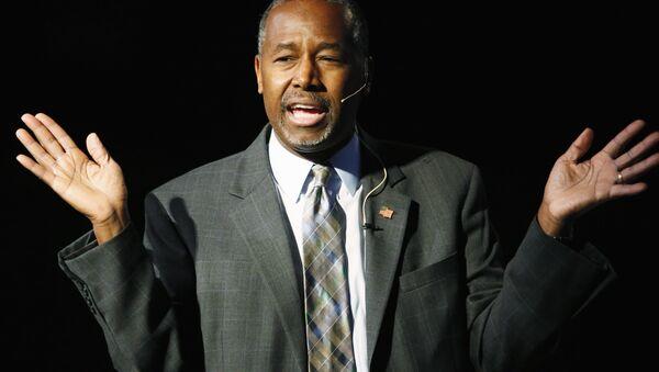 Republican presidential candidate Ben Carson - Sputnik International