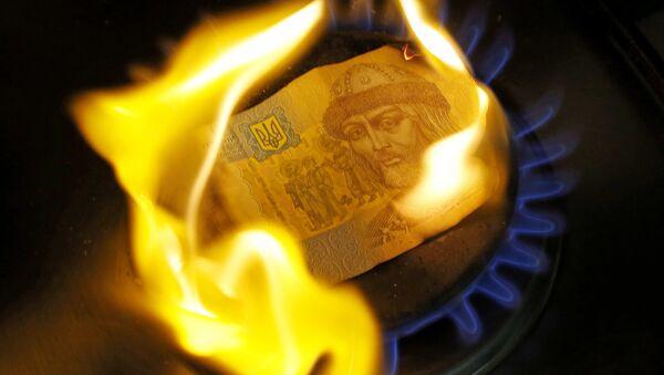Russian and Ukrainian bills and coins - Sputnik International
