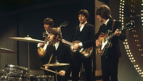 The Beatles perform at TV studios in London, June 1966, prior to their tour in Germany and Japan - Sputnik International