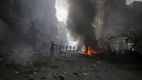 Douma neighborhood of Damascus, Syria November 7, 2015. - Sputnik International